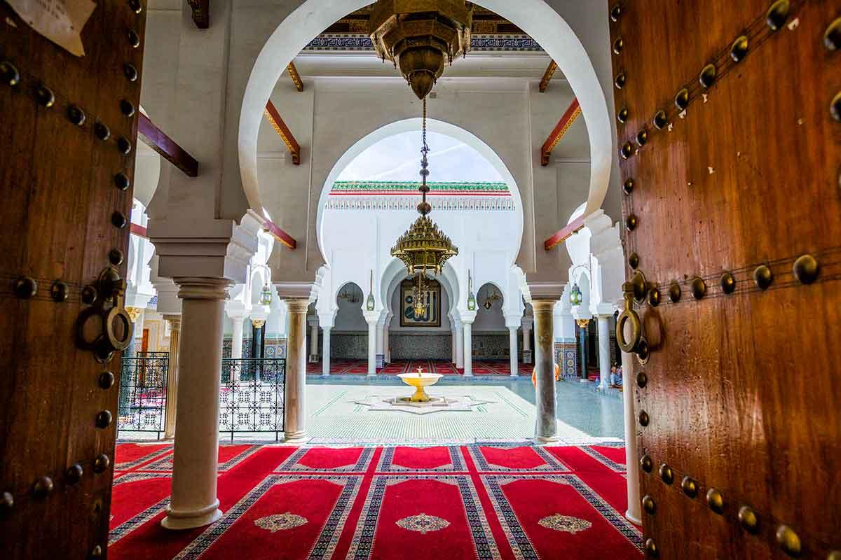 Mausoleo de Moulay Idris en Fez