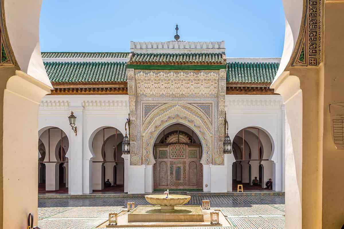 Mezquita Al Karaouine en Fez