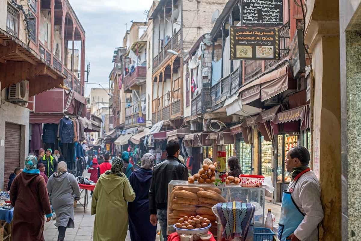 Fes el Jdid o Barrio Judio Mellah de Fez