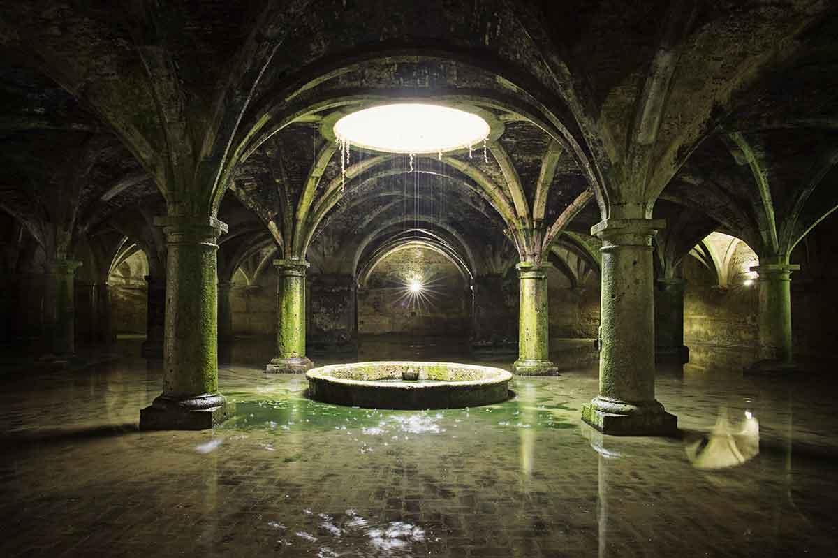Cisterna portuguesa de el Jadida