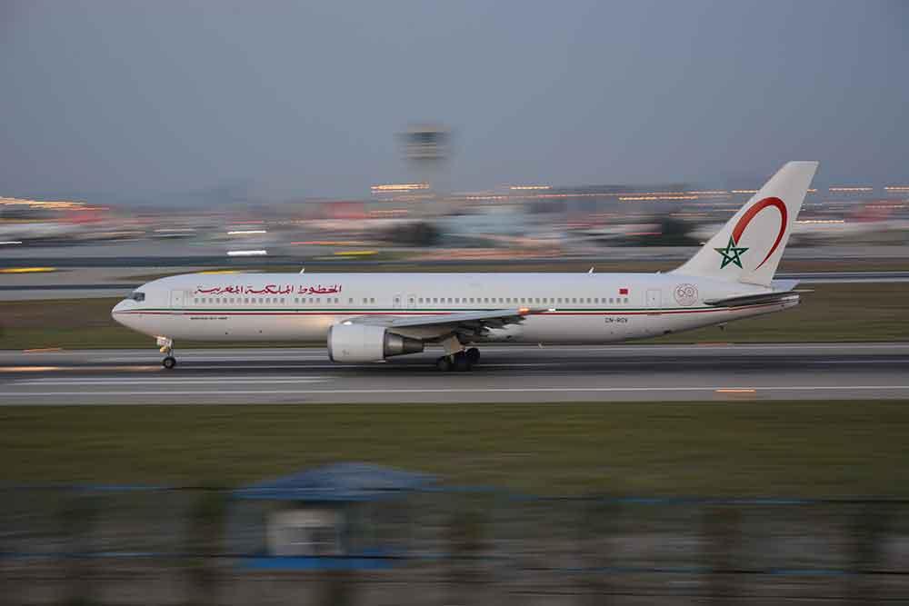 Como llegar avión Marruecos