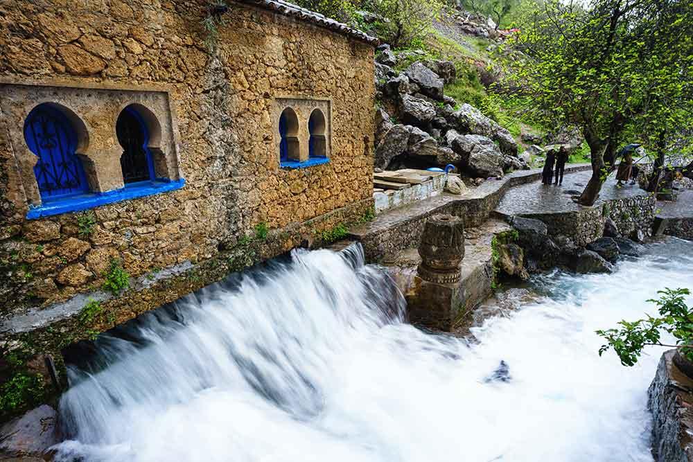 Fuente de agua Ras el Maa Chaouen
