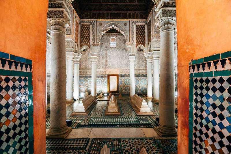 Las tumbas Saadies Marrakech
