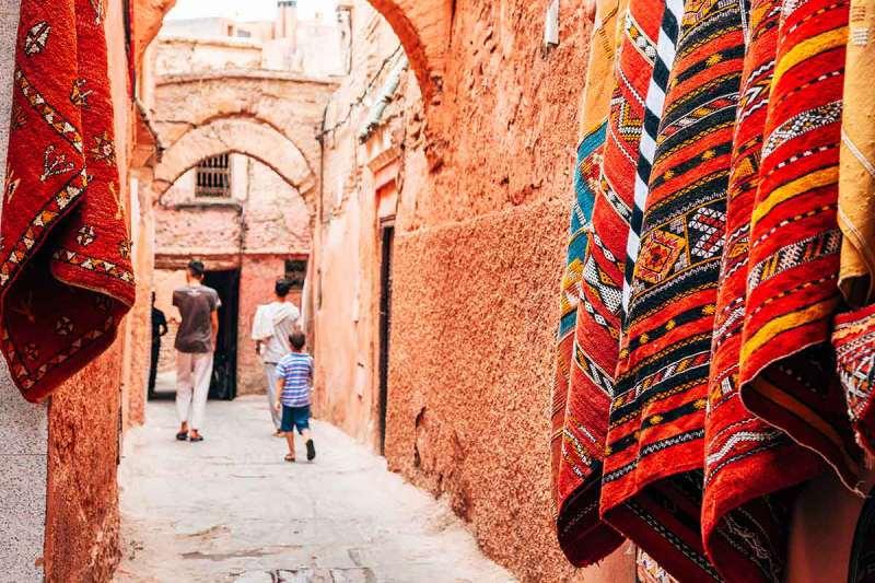 Mellah o barrio judio de Marrakech