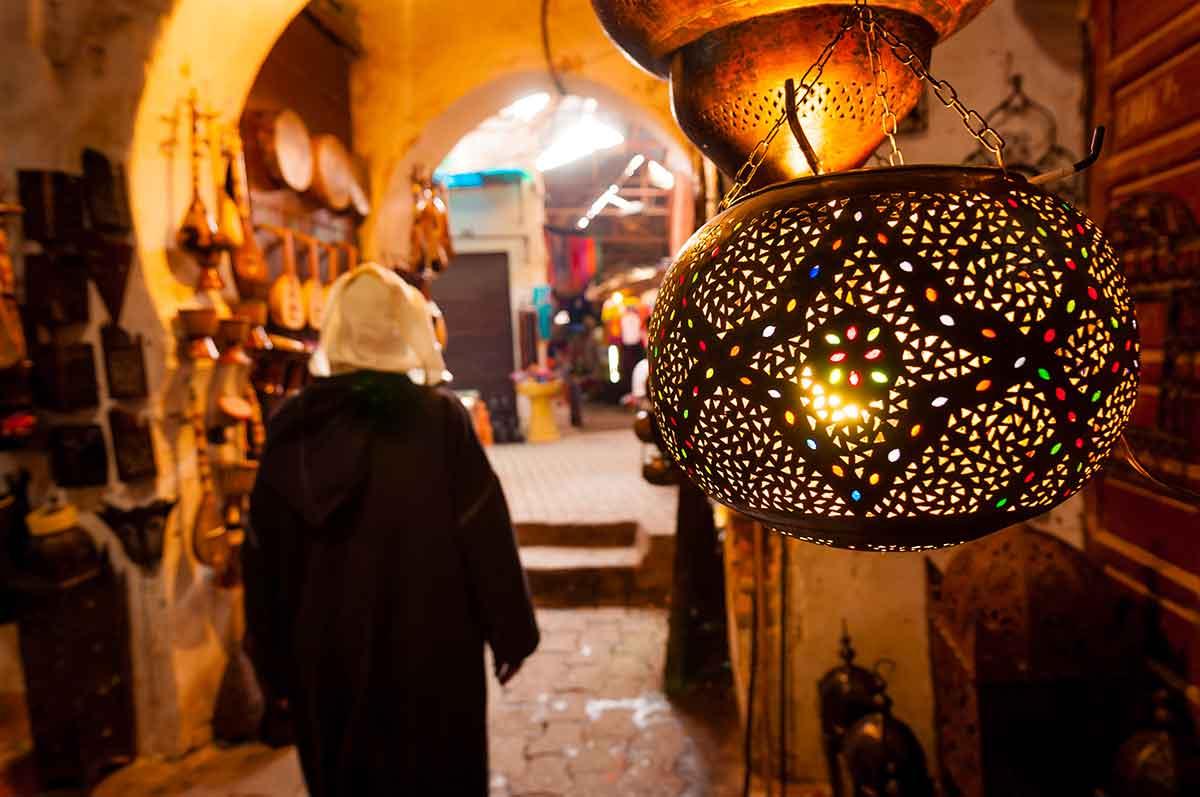 Zocos o mercados de Marrakech