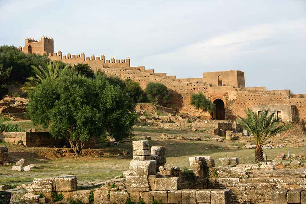 Necropolis de Chellah Rabat