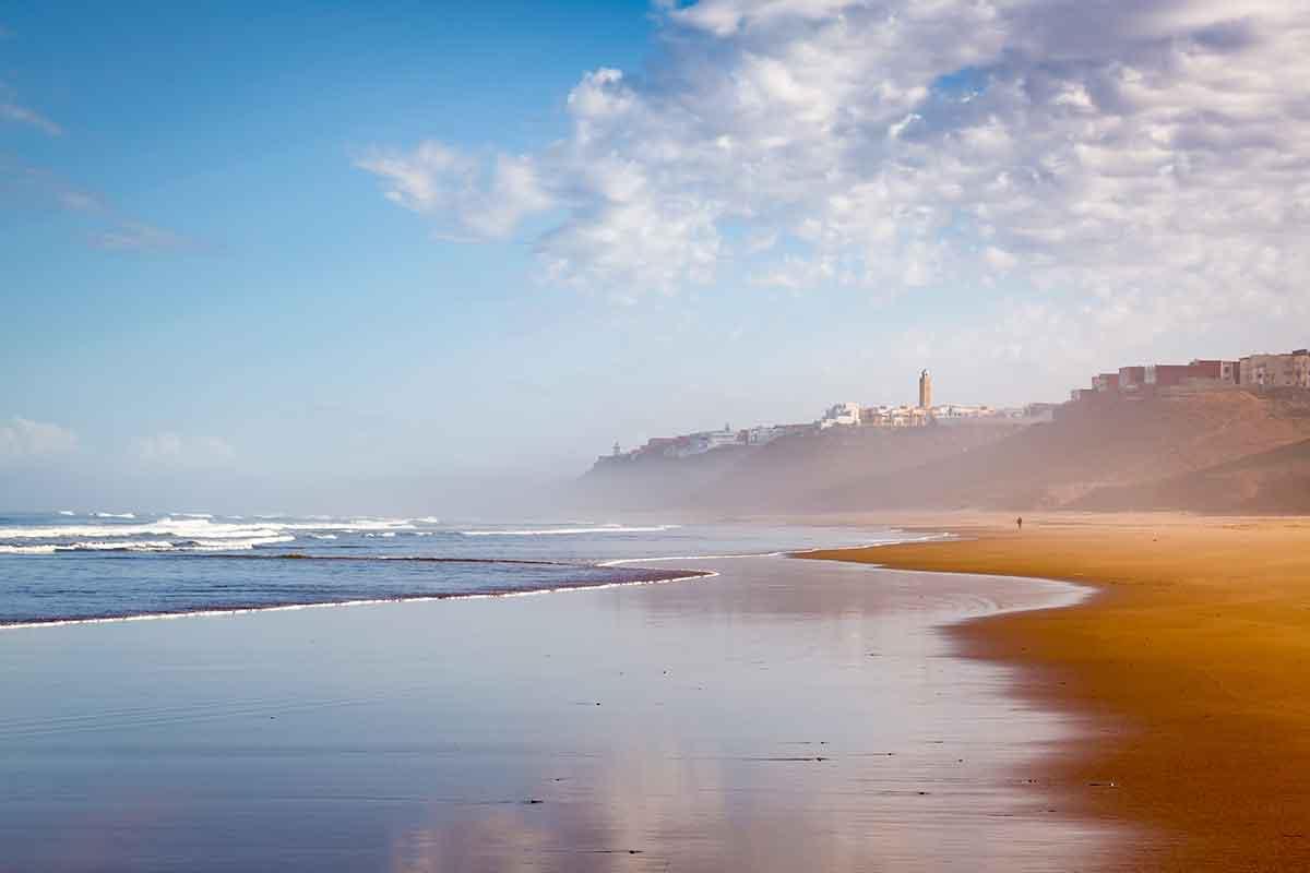 Playa Sidi Ifni Marruecos
