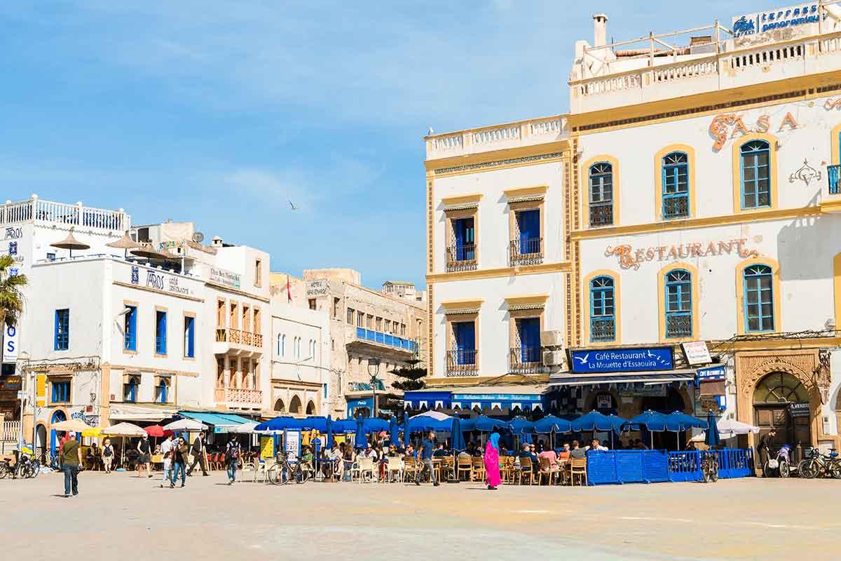 Plaza Moulay Hassan Essaouira