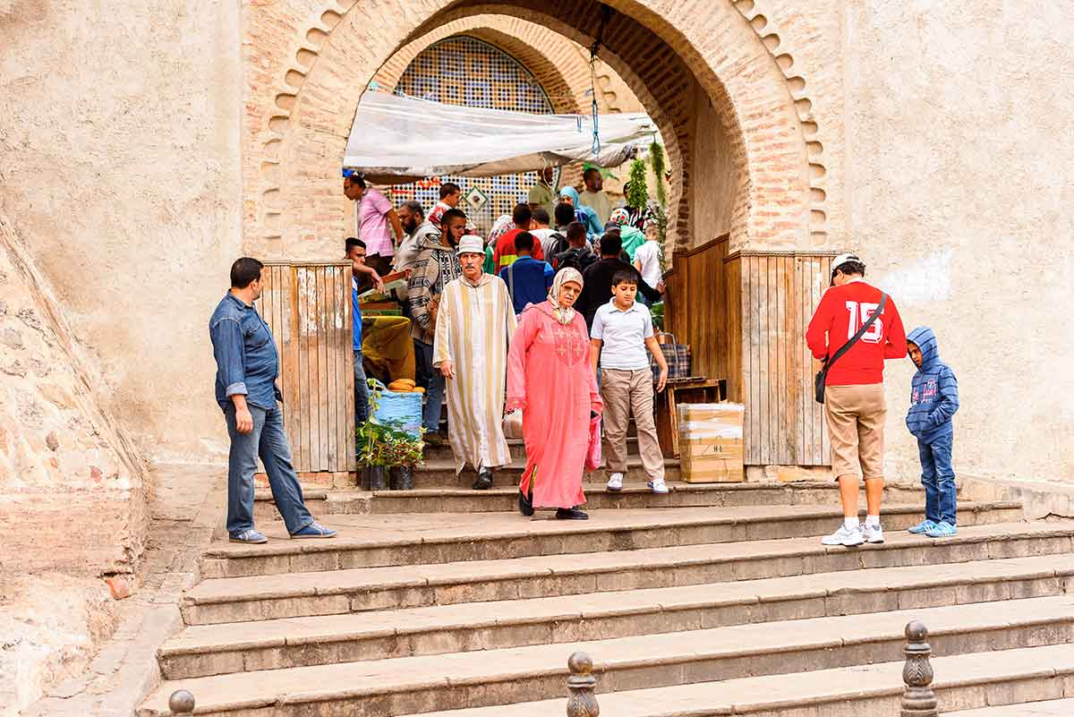 Puerta medina de Tetuan