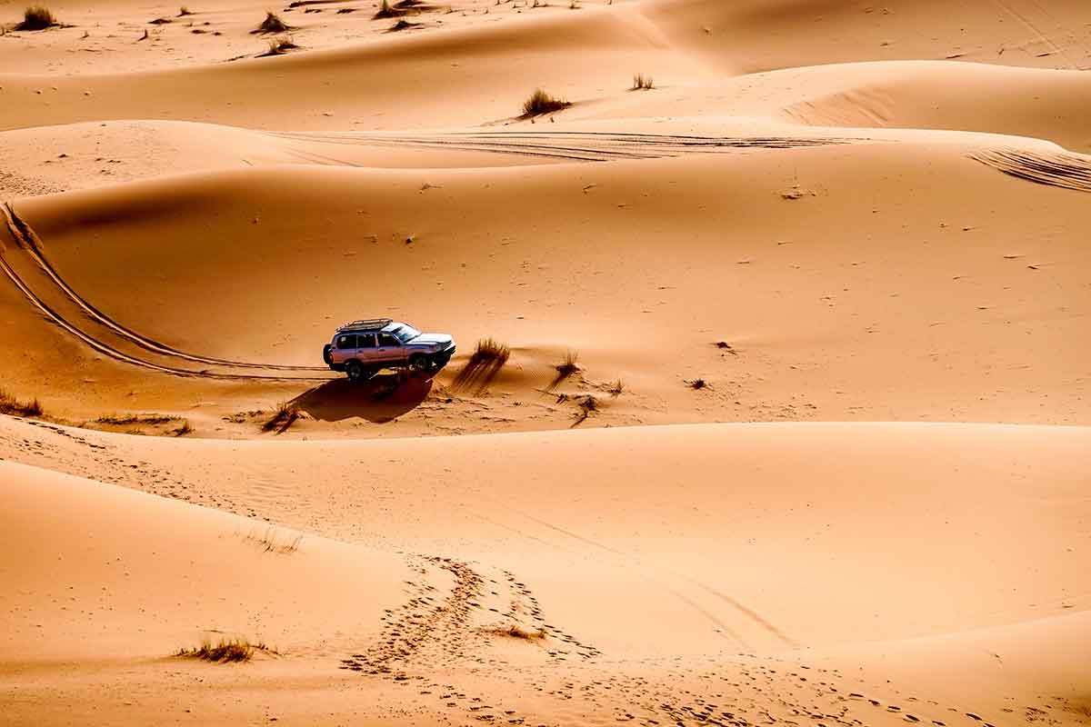 Rutas 4x4 por el desierto de Marruecos