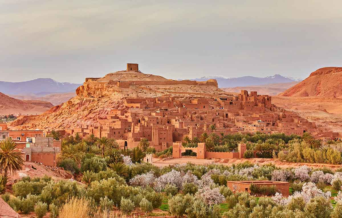 Vista general Ait Ben Haddou