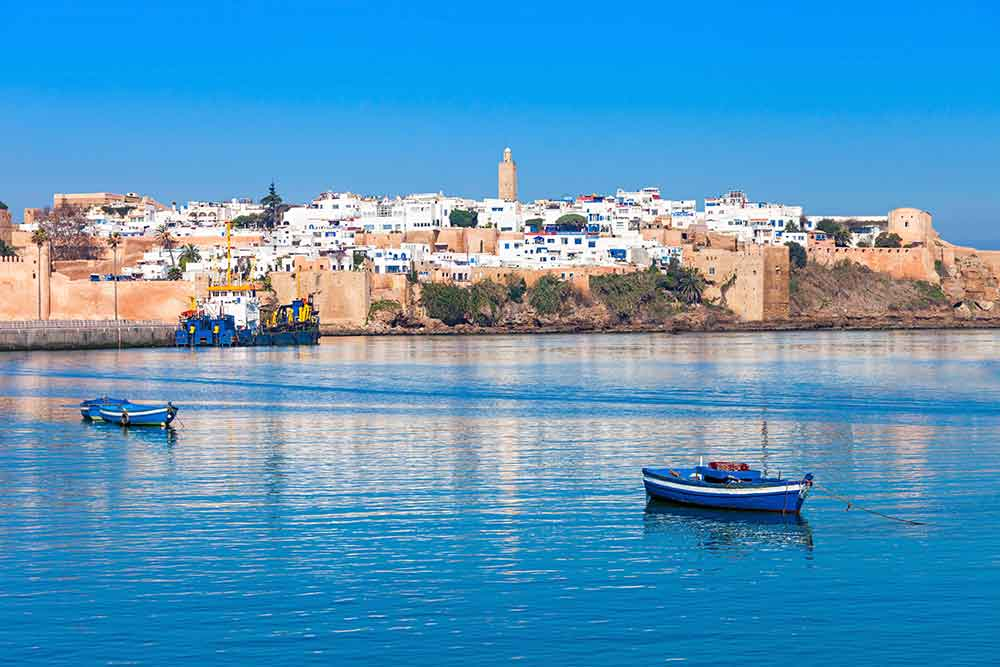 Vista de Rabat