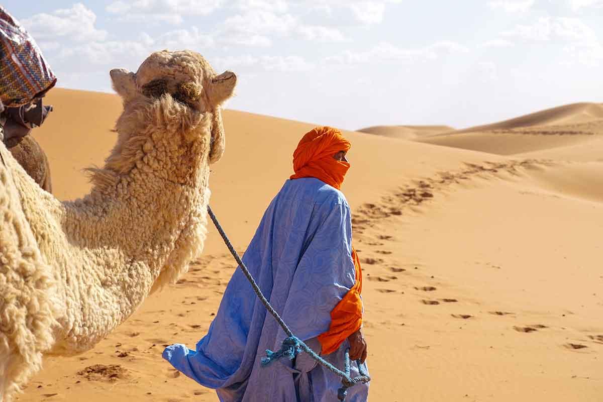 Desierto de Merzouga desde Rissani