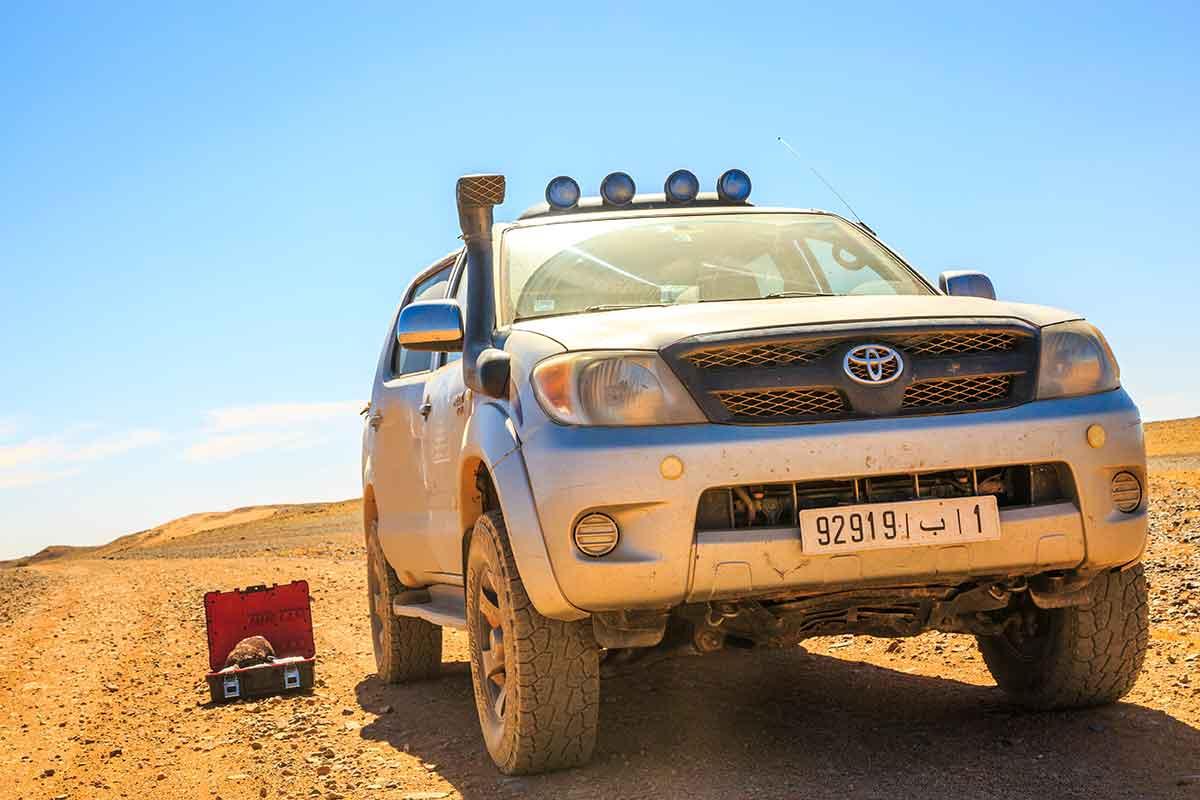 Ruta 4x4 por el desierto de Merzouga