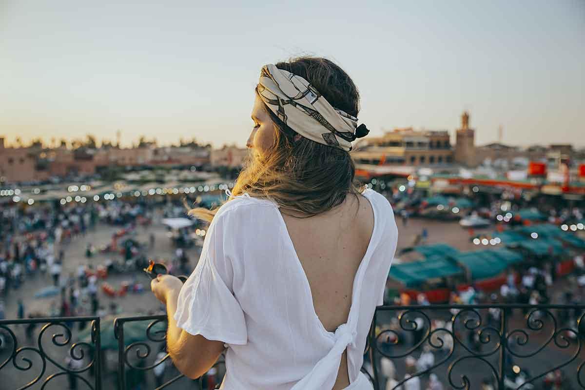 Mujeres viajando solas por Marruecos