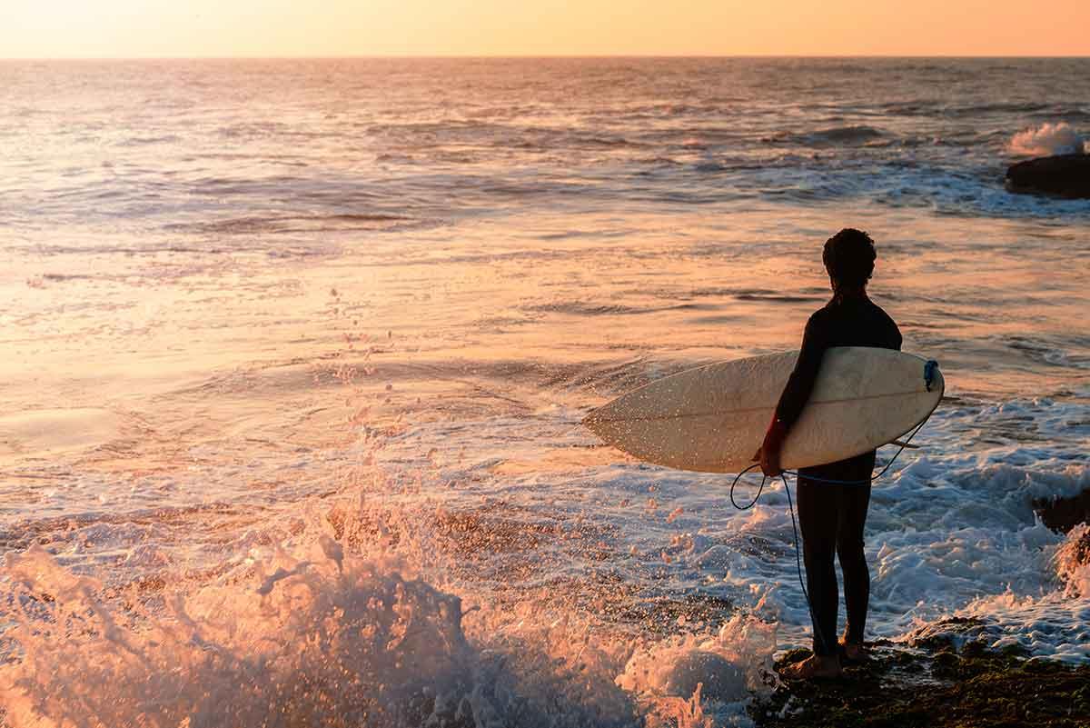 Practicar surf en Marruecos