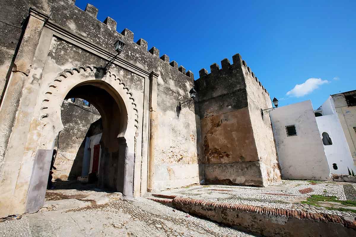Puerta Kasbah Tanger