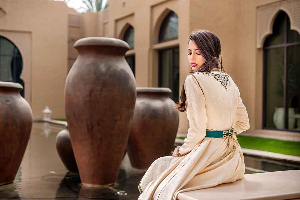 Vestido tradicional marroqui