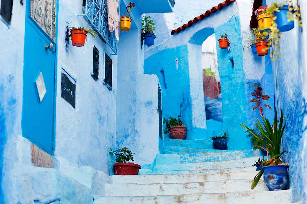 Pueblo Azul Chaouen