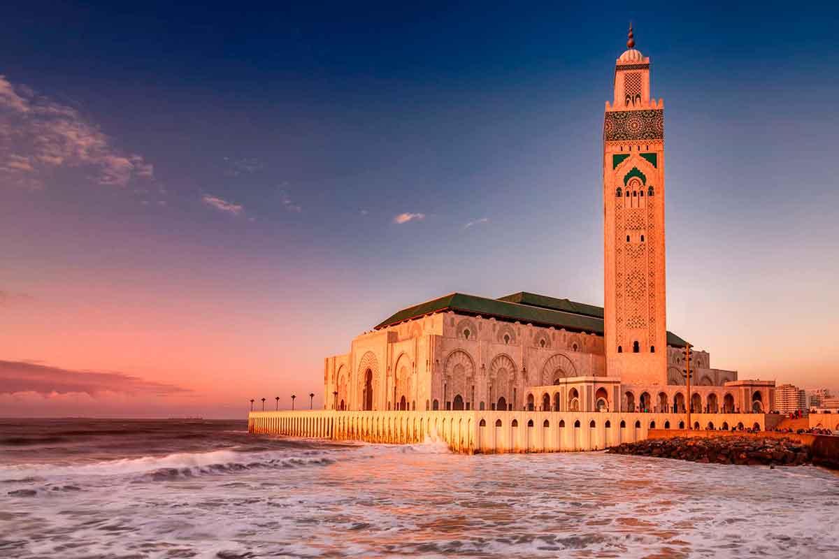 Mezquita de Hassan II en Casablanca