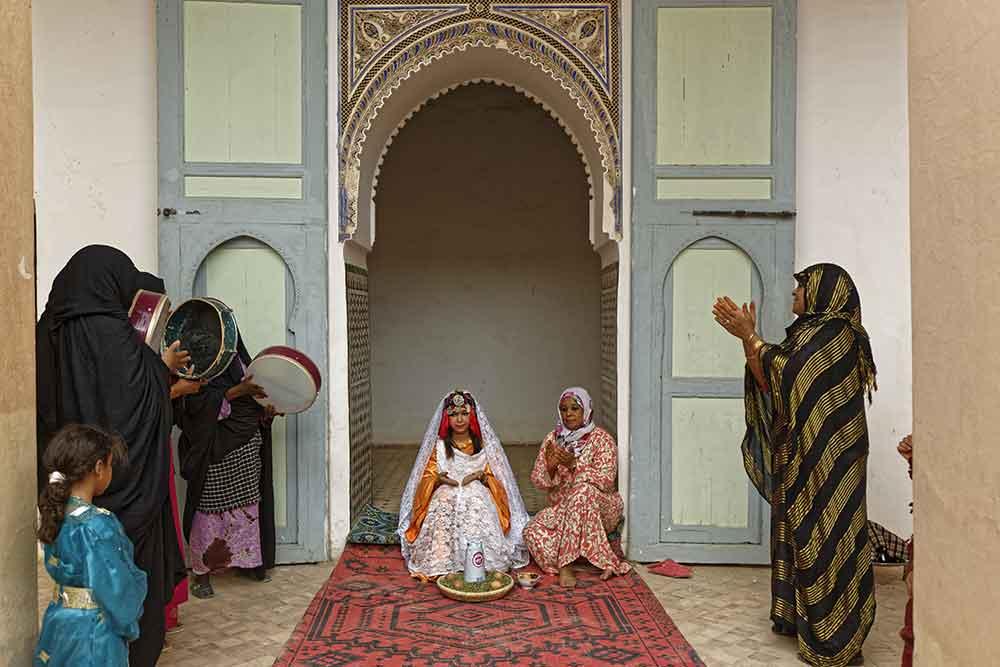 Boda Mujer Bereber Marruecos