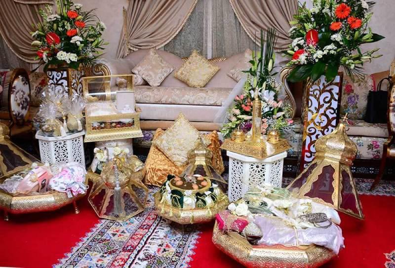 Decorado boda Marroqui
