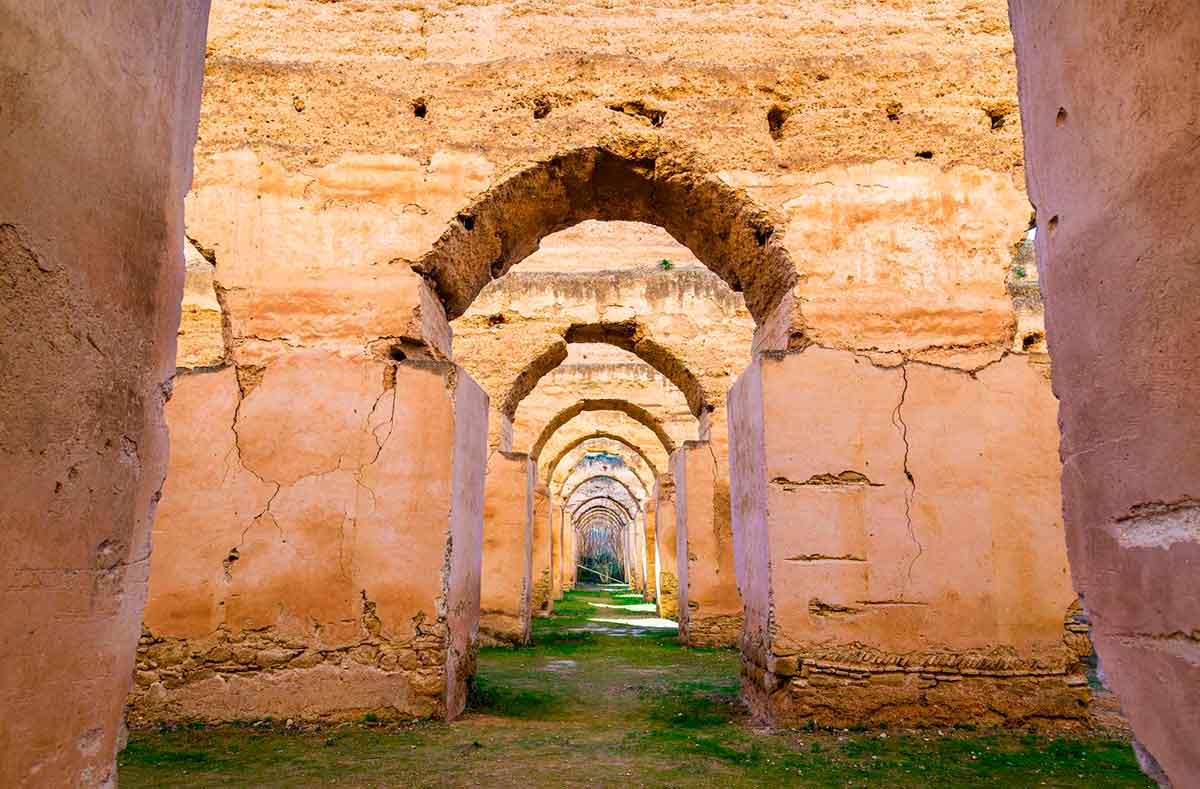 Que visitar en Meknes las caballerias