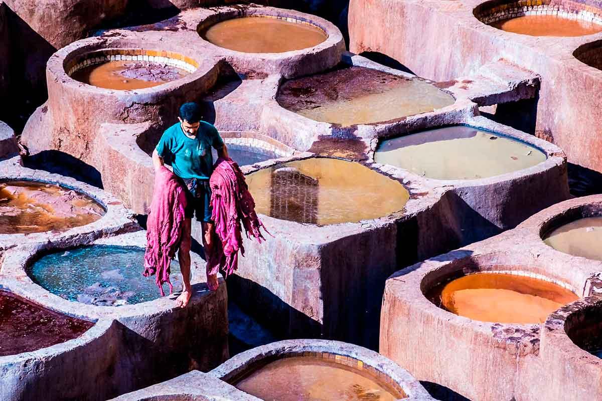 Curtiduría de Fez