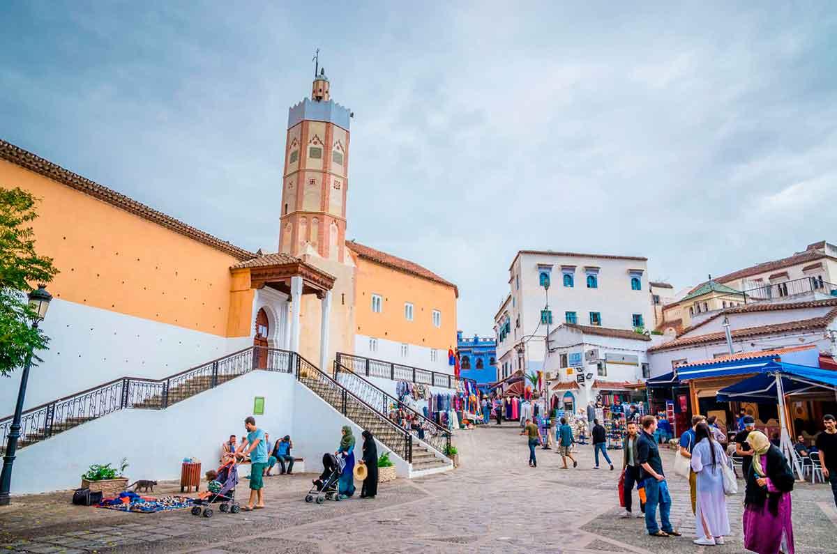 Gran Mezquita y Plaza Utta el Hamman