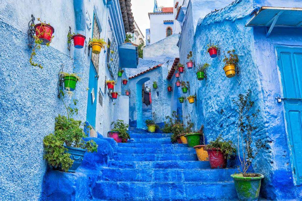 El pueblo Azul de Chaouen