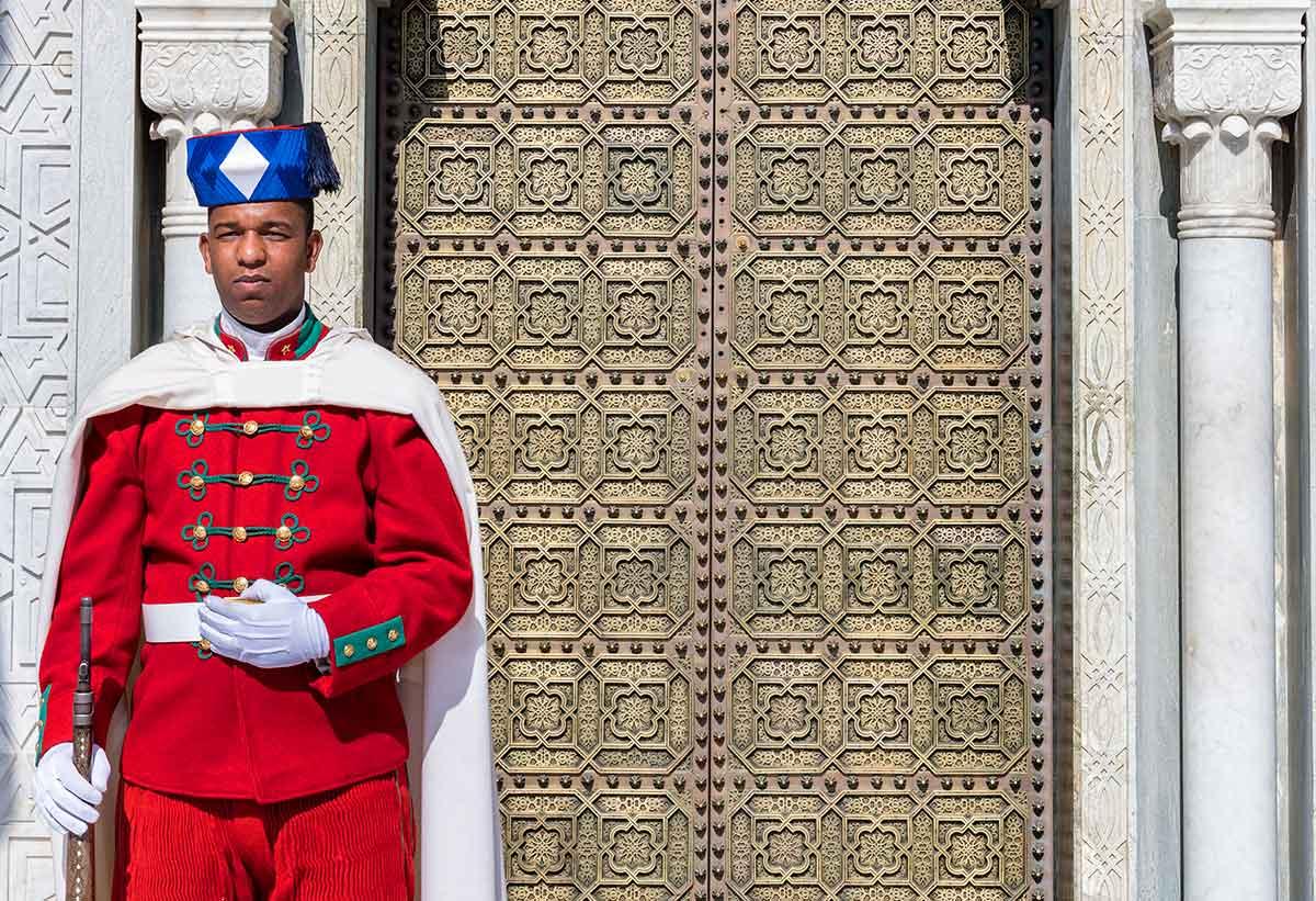 Guardia Real en Marruecos