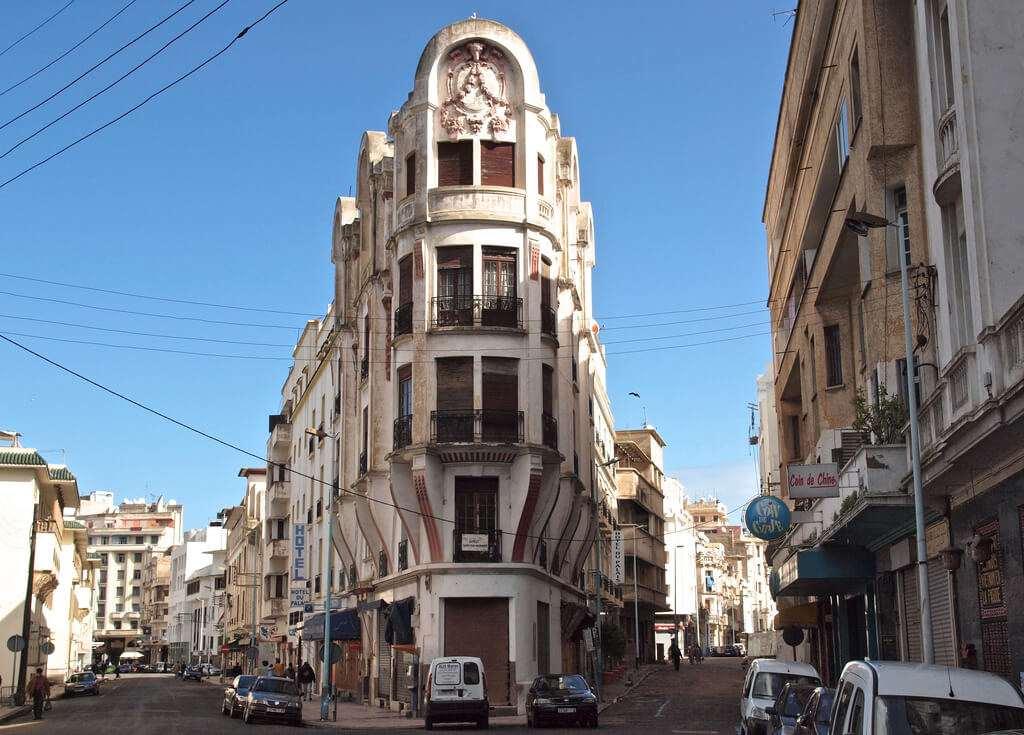 Edificios Neo-Coloniales Casablanca