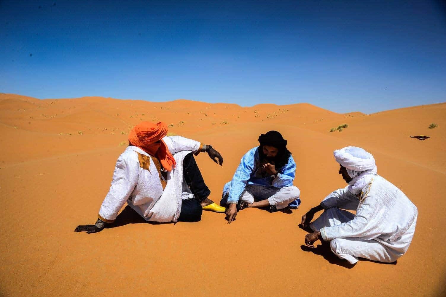 Desierto del Sahara en Marruecos