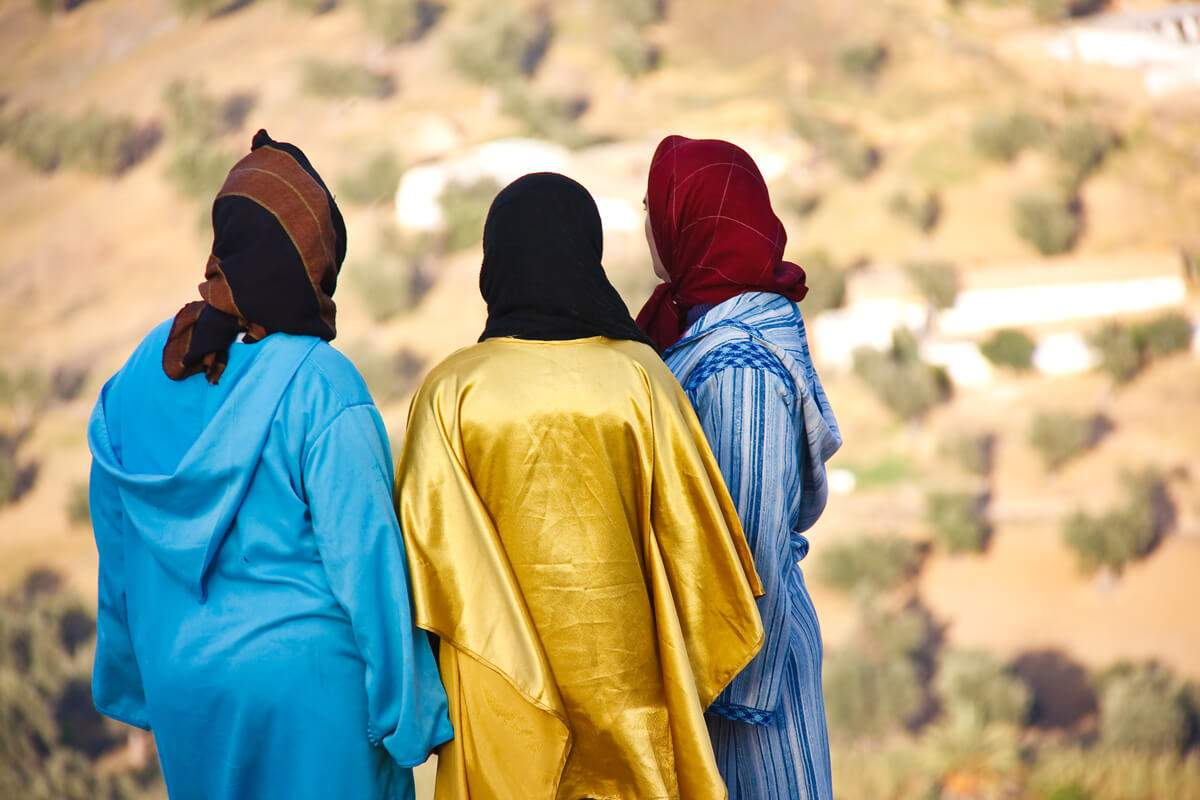 Mujeres-marroquíes