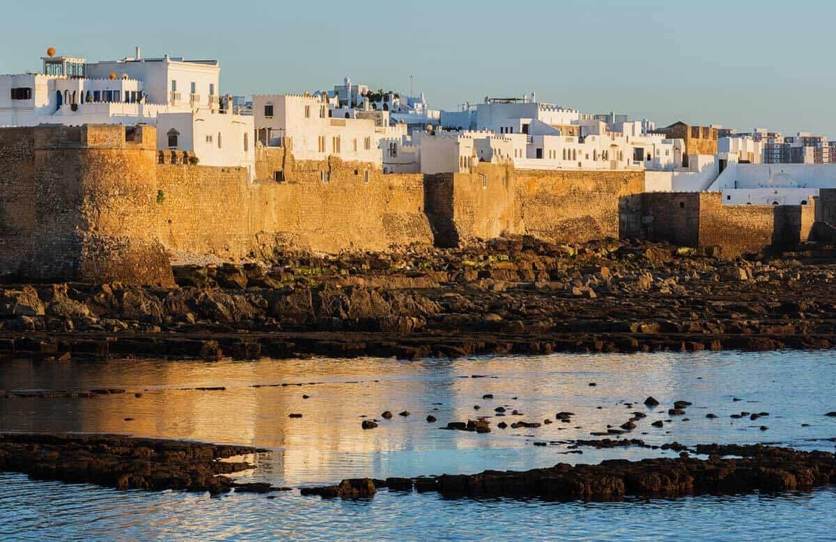 Antiguas murallas portuguesas de Asilah