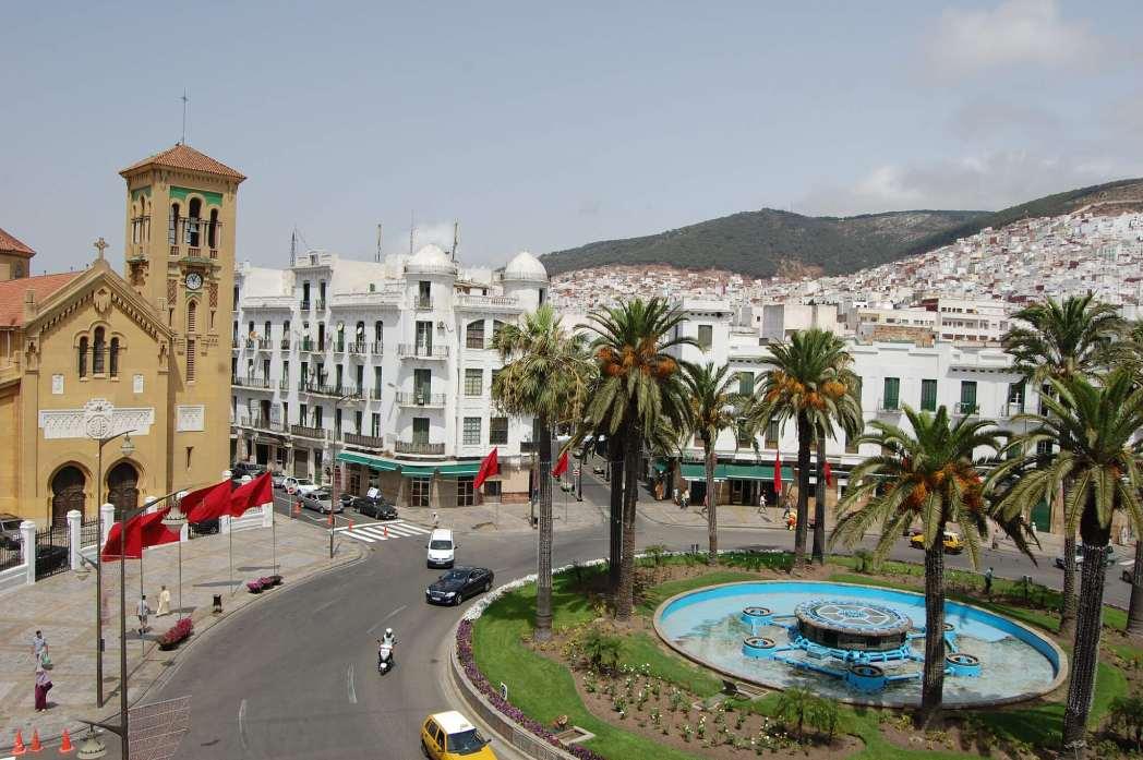 Plaza Moulay el Mehdi en Tetuan