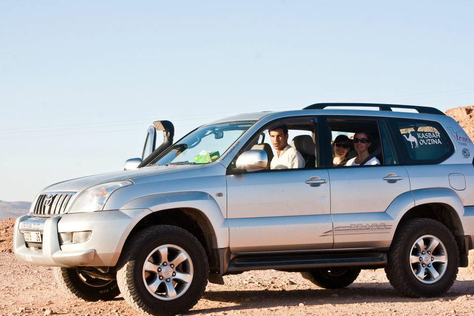Transporte y traslados en vehículos 4x4