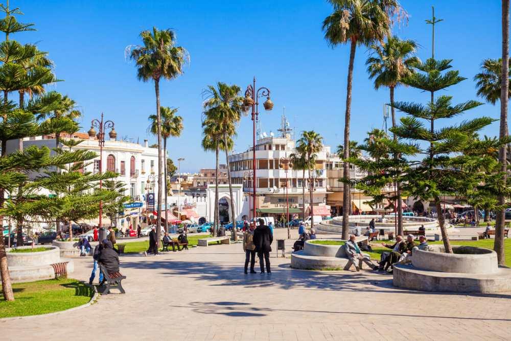 Plaza 9 de Abril Tanger