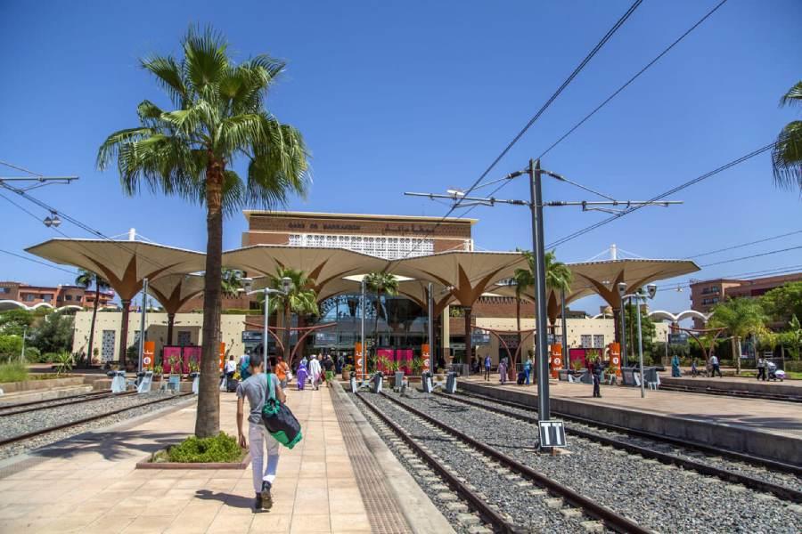 Transporte Tren Marruecos