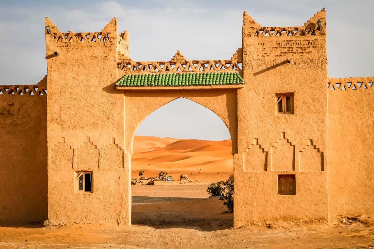 Puerta del Desierto del Sahara