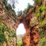 El puente de Dios en Akchour