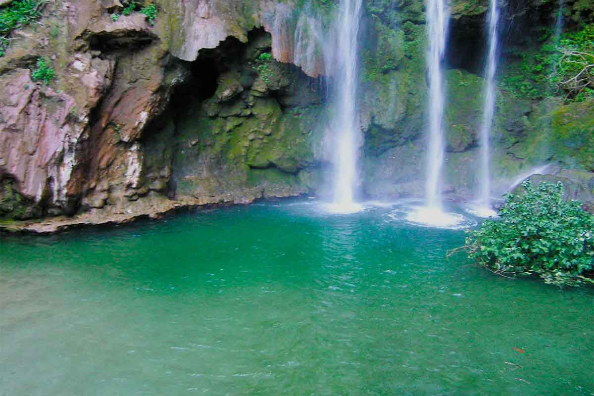 La gran Cascada de Akchour