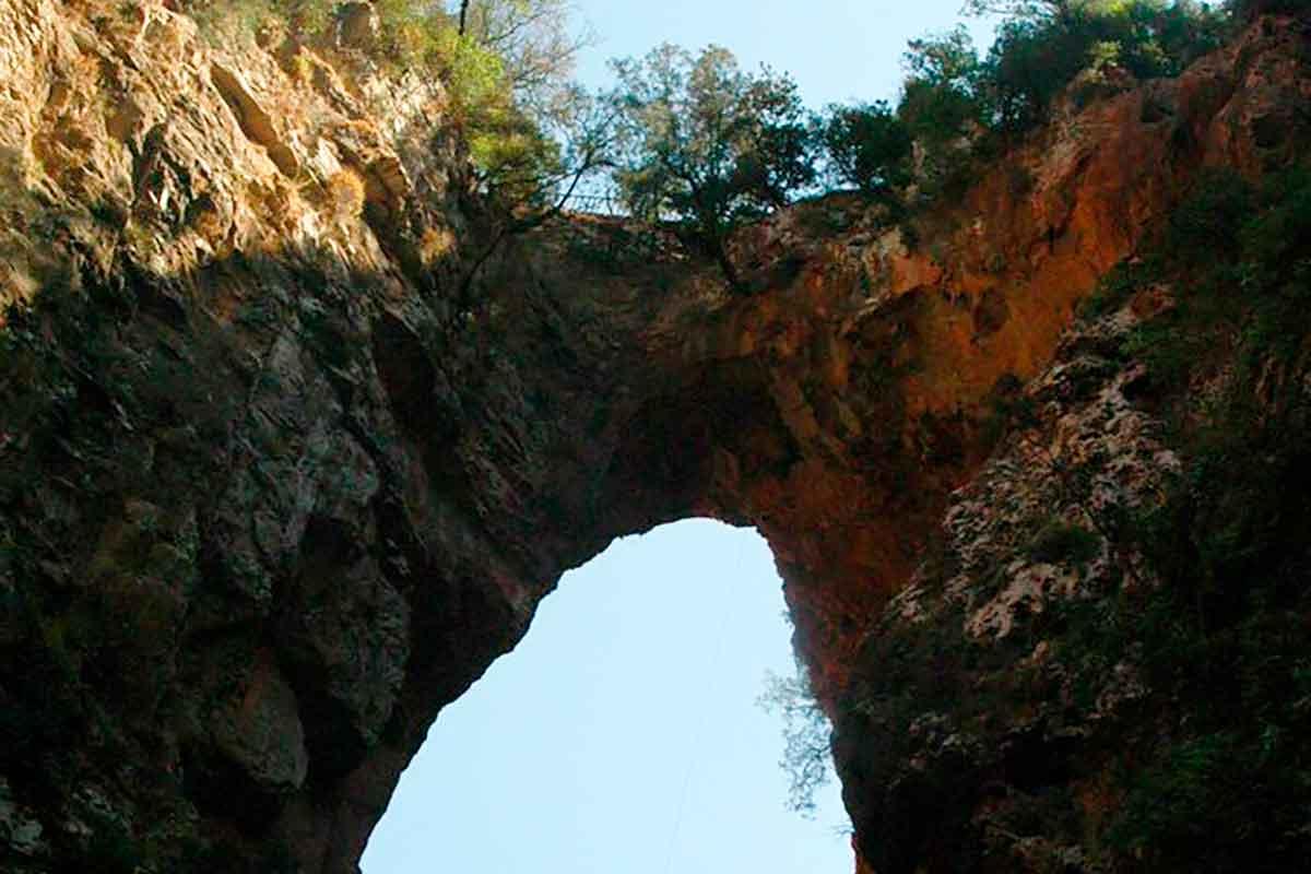 Akchour y el puente de dios