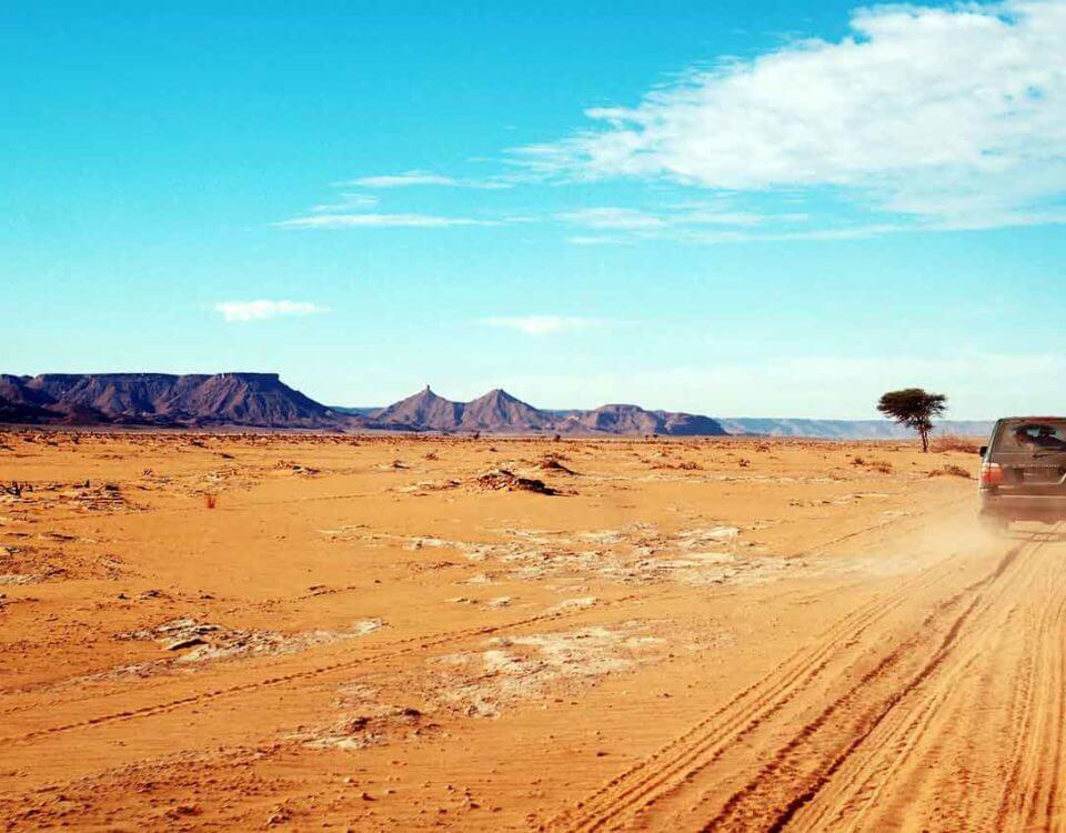 Desierto Marruecos pistas