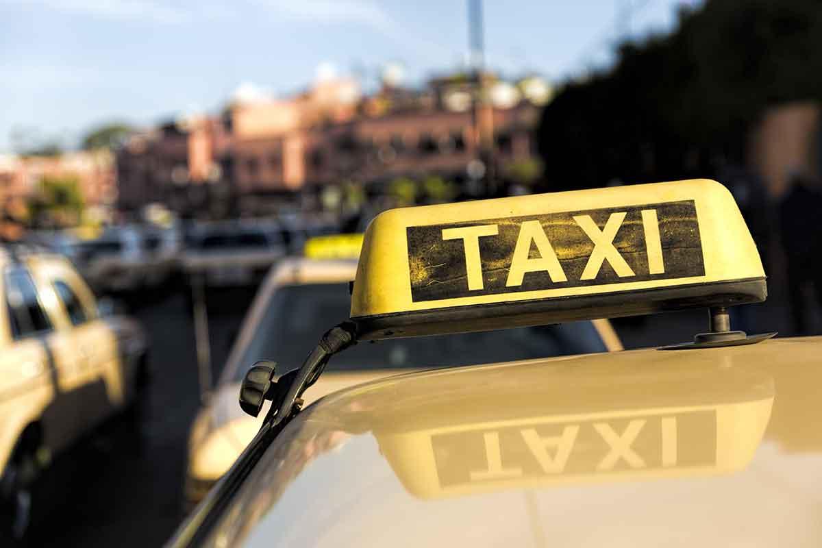 Grand Taxi Marruecos