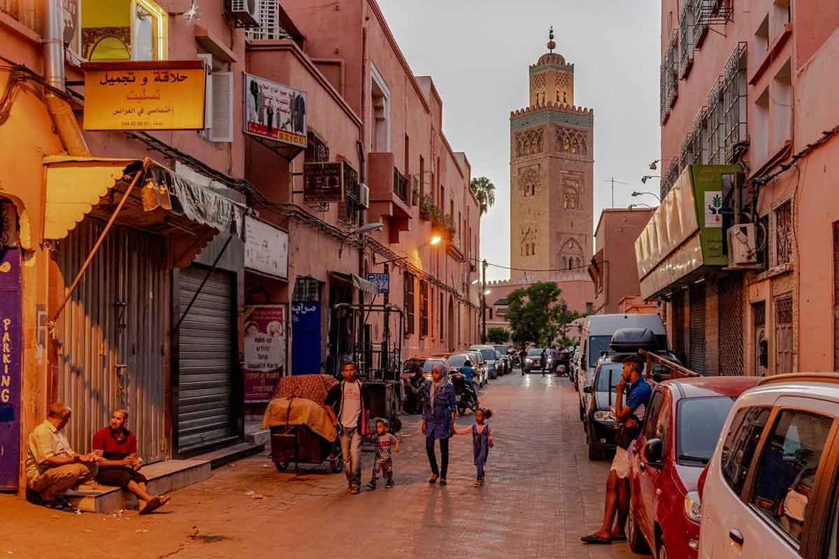 Marrakech una de las ciudades más animadas