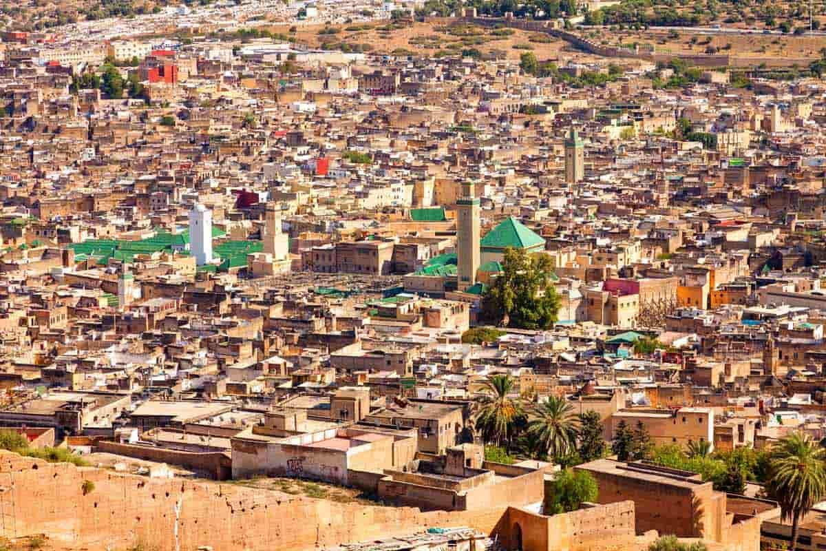 Fez un de las medinas más grandes del mundo
