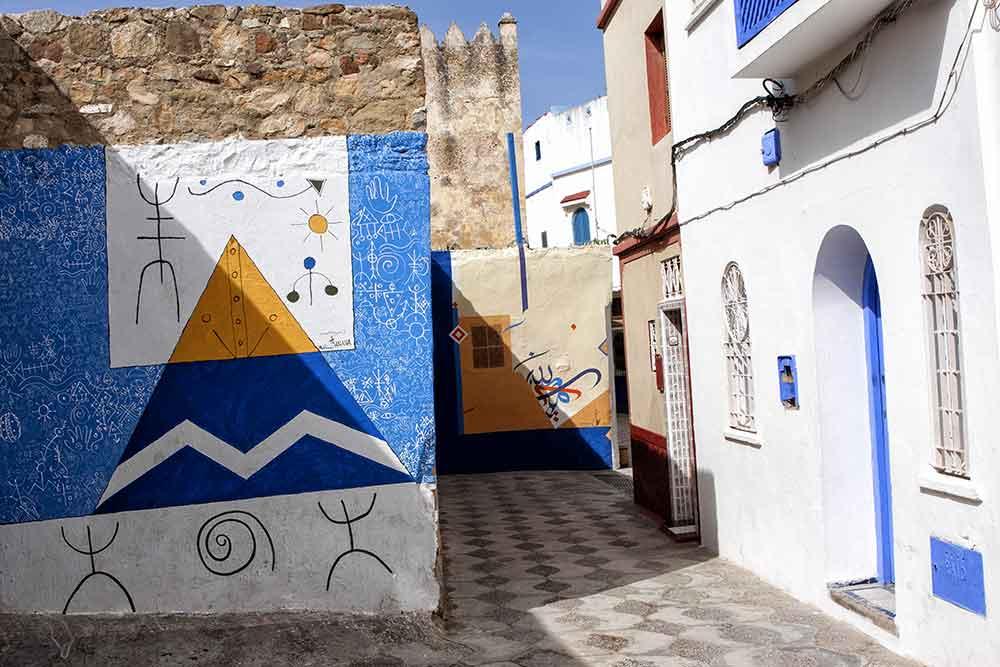 Pinturas murales de Asilah