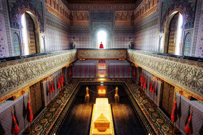 Mausoleo Rabat de los Alaouitas