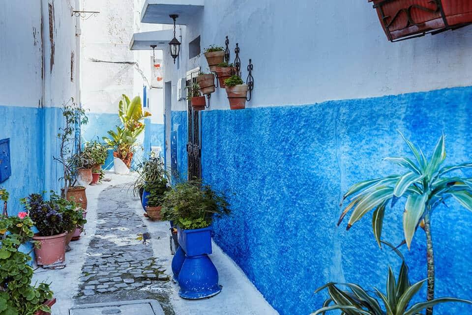 Medina Rabat Azul